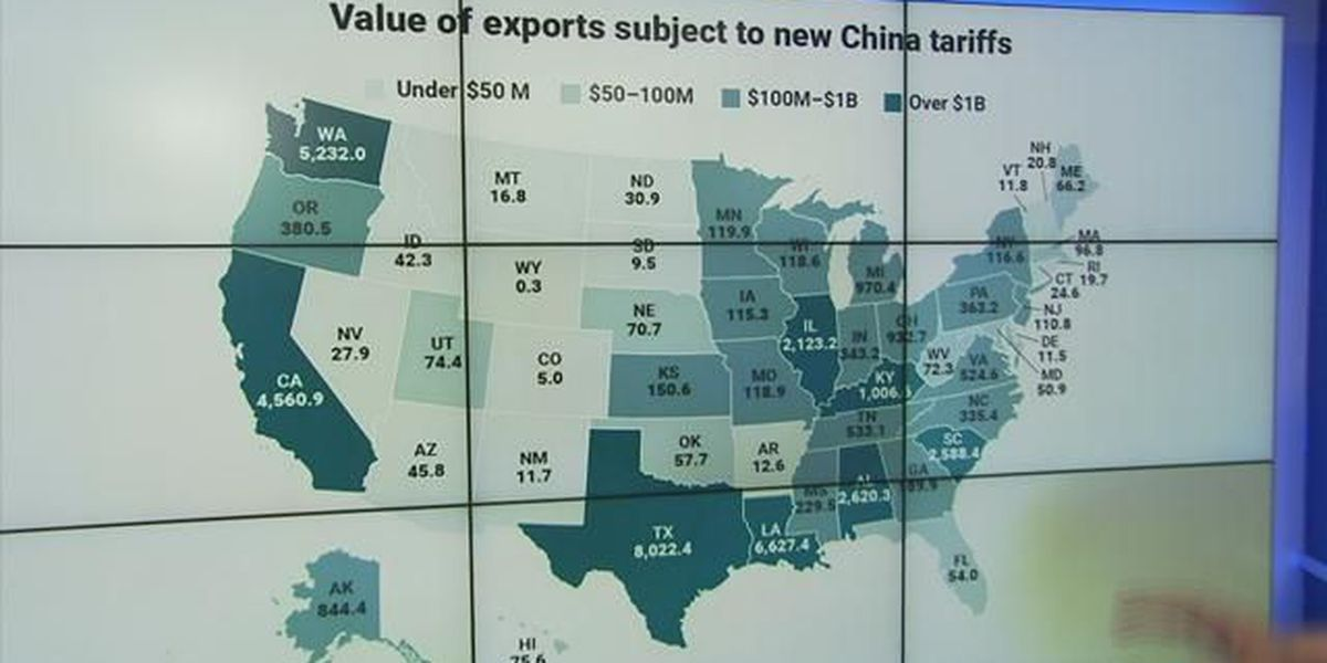 Business Report: Trade war impacts, state by state