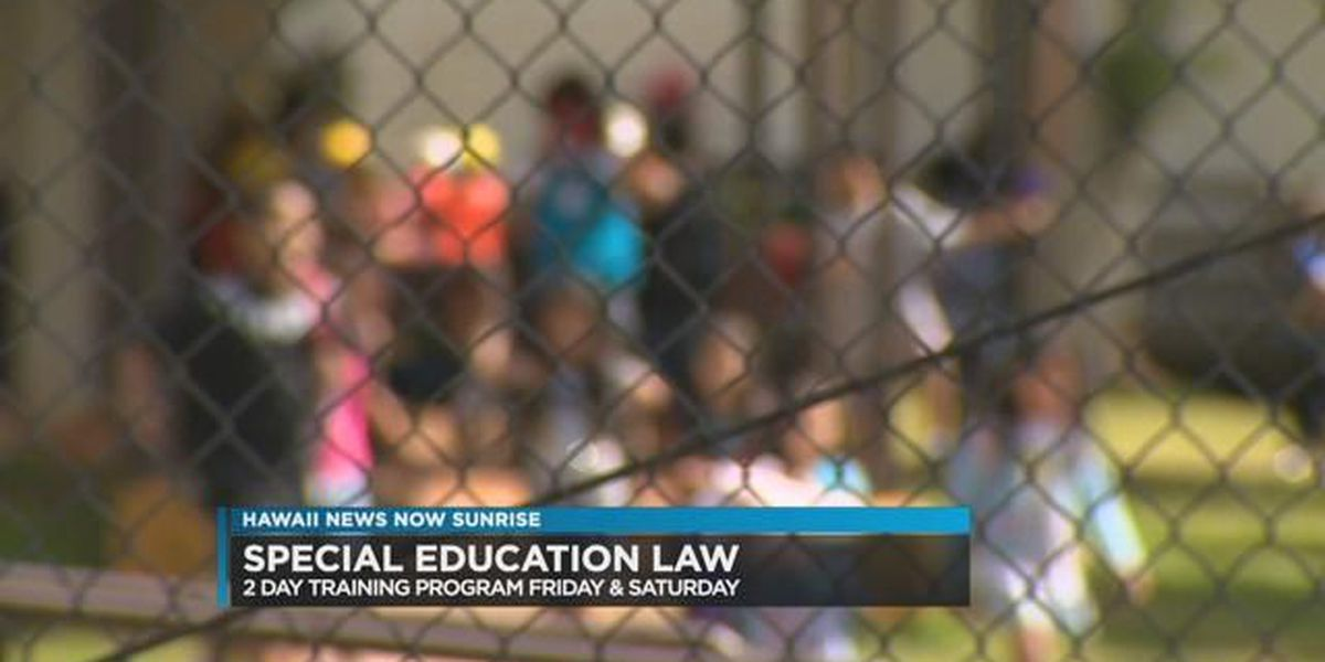 Special education advocacy boot camp conference to take place in Honolulu