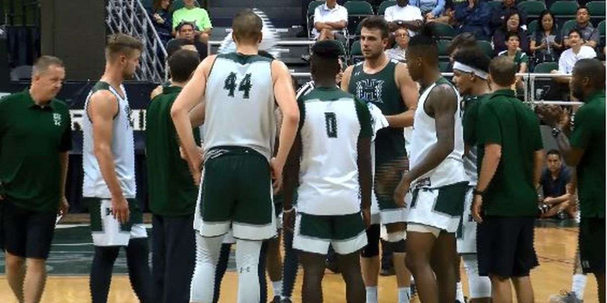 Rainbow Warriors hold annual Green & White scrimmage