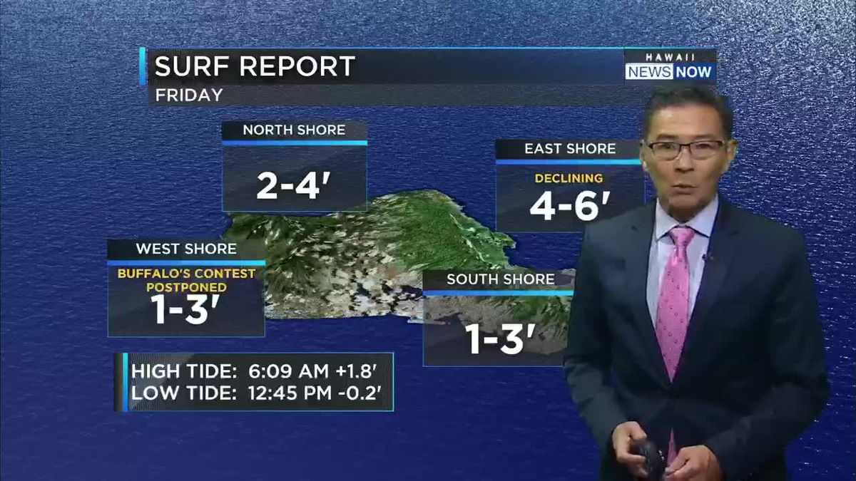 HNN Morning Web Weather Friday, February 22, 2019