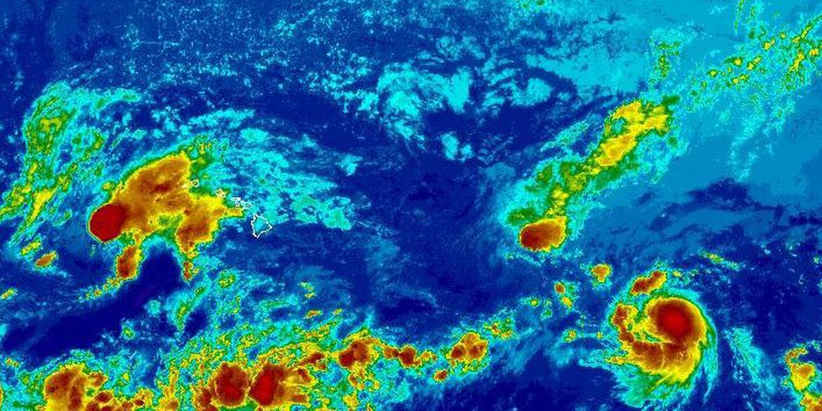 Forecasters now monitoring new tropical storm in East Pacific