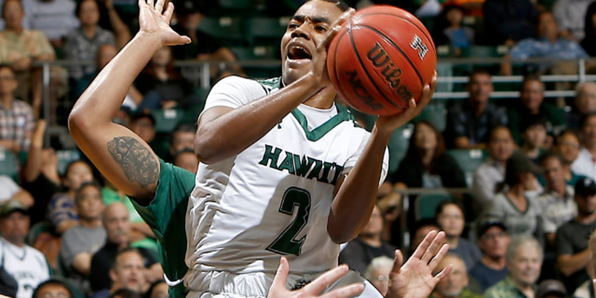 Rainbow Warriors pull off upset win over Utah, 90-79