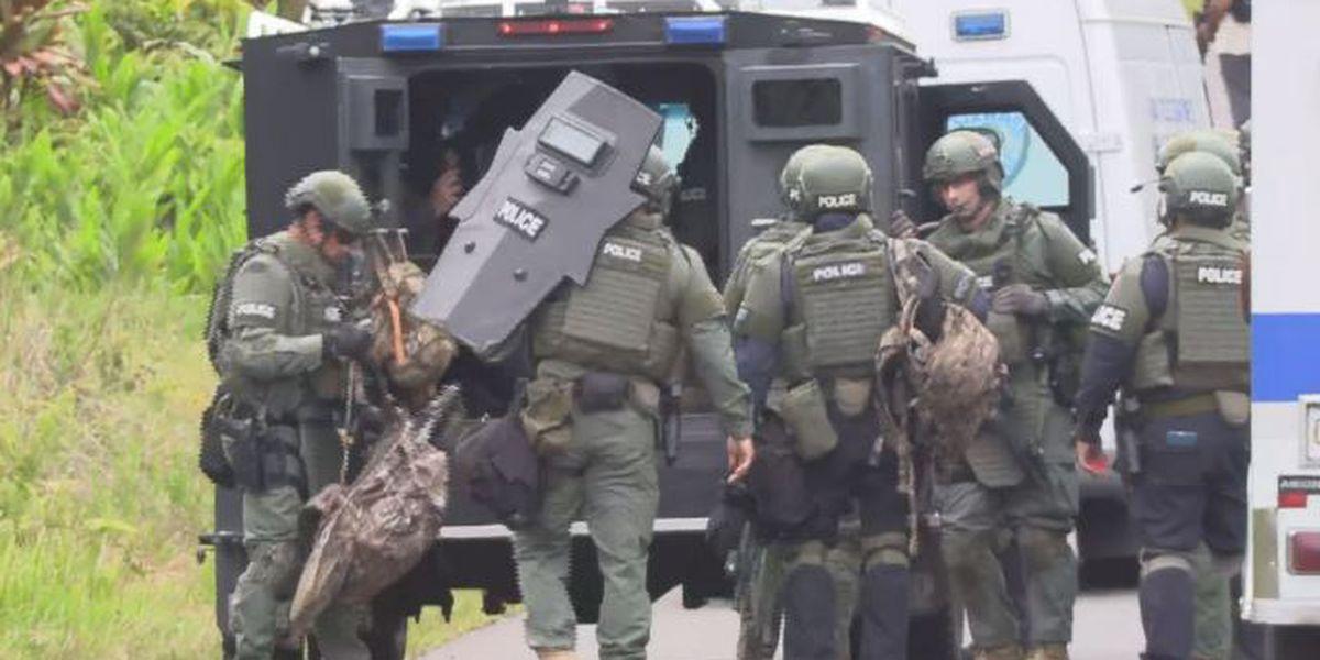 Following standoff, police arrest suspect in fatal Big Island shooting