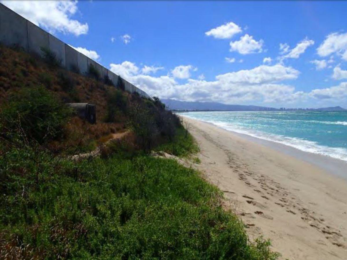 Proposed steel sea wall for an Ewa Beach shoreline raises concerns