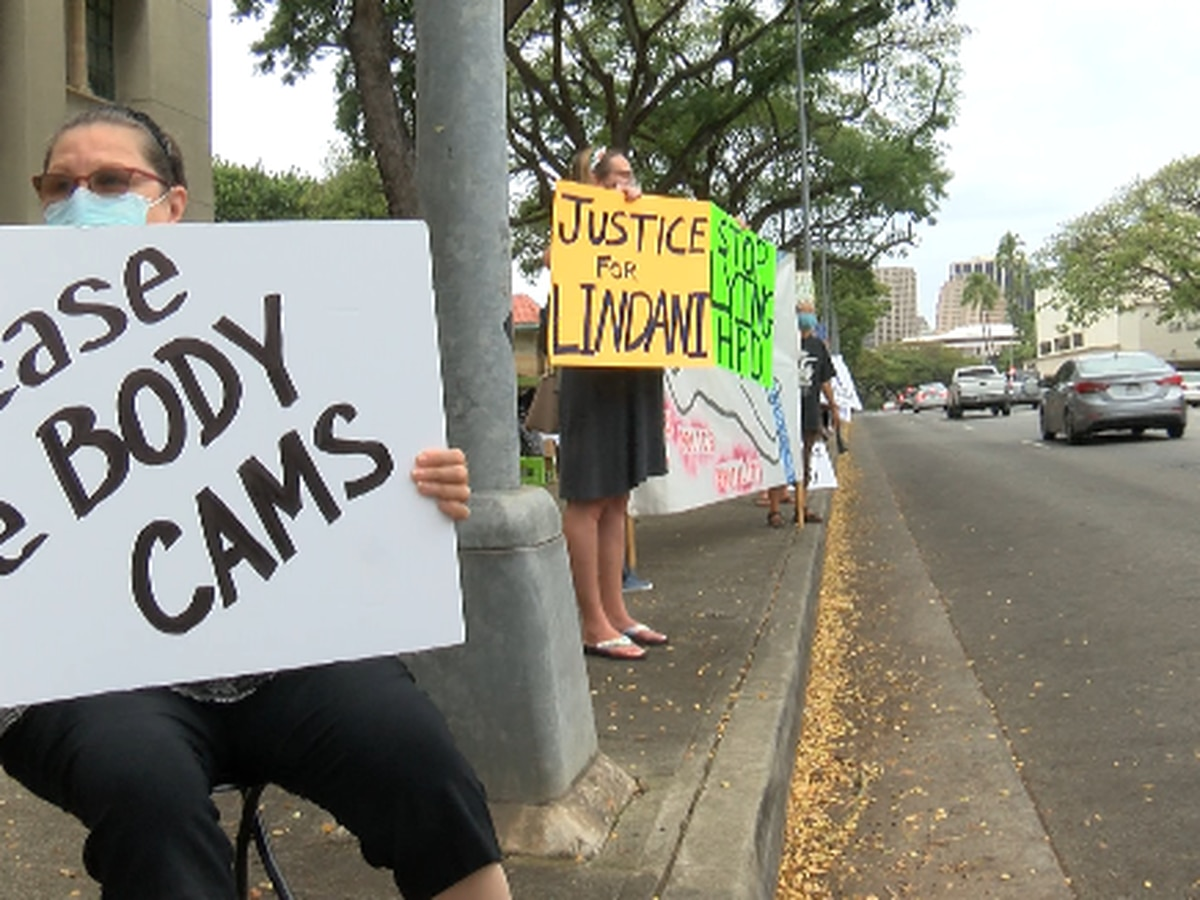 Protesters demand transparency, accountability from HPD following 2 deadly Oahu shootings
