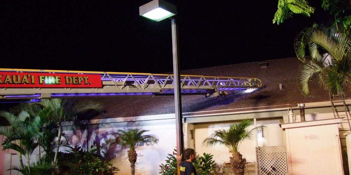 Fire causes $100K in damage to a Poipu restaurant