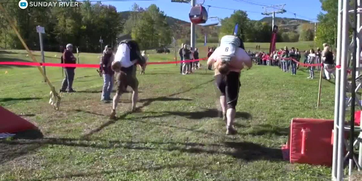 Whats Trending: Louvre illusion, taped player, wife-carrying championships
