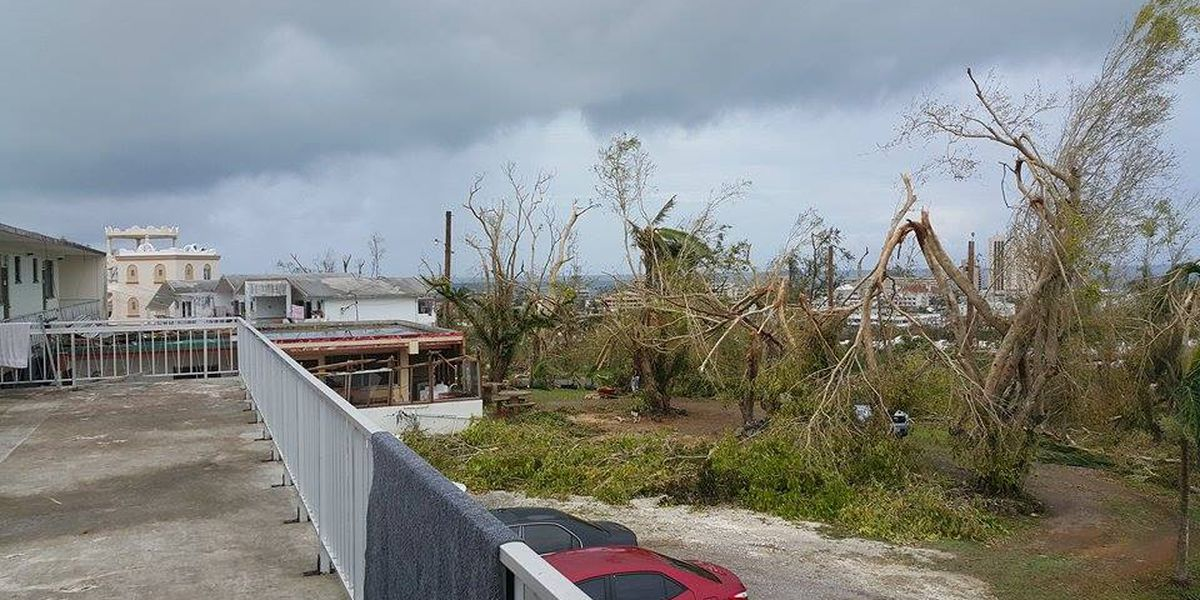 Disaster center to open in storm-ravaged Saipan