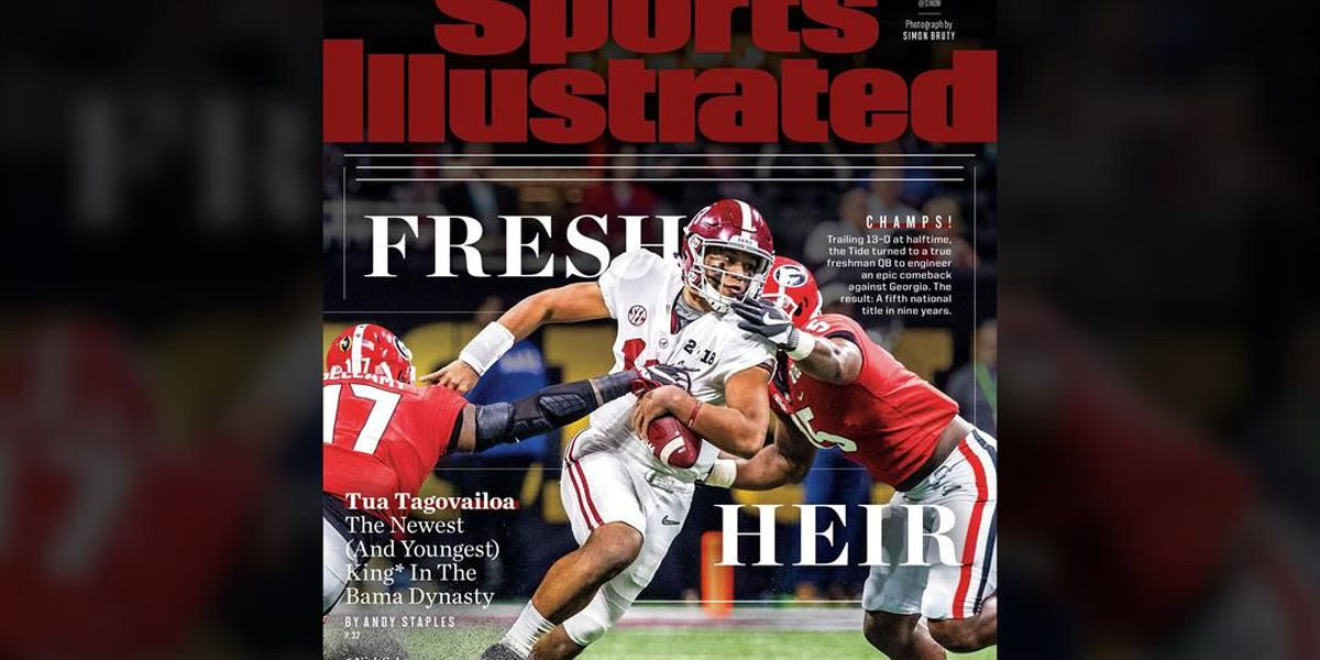 after Sports  Illustrated title lands game Tagovailoa cover
