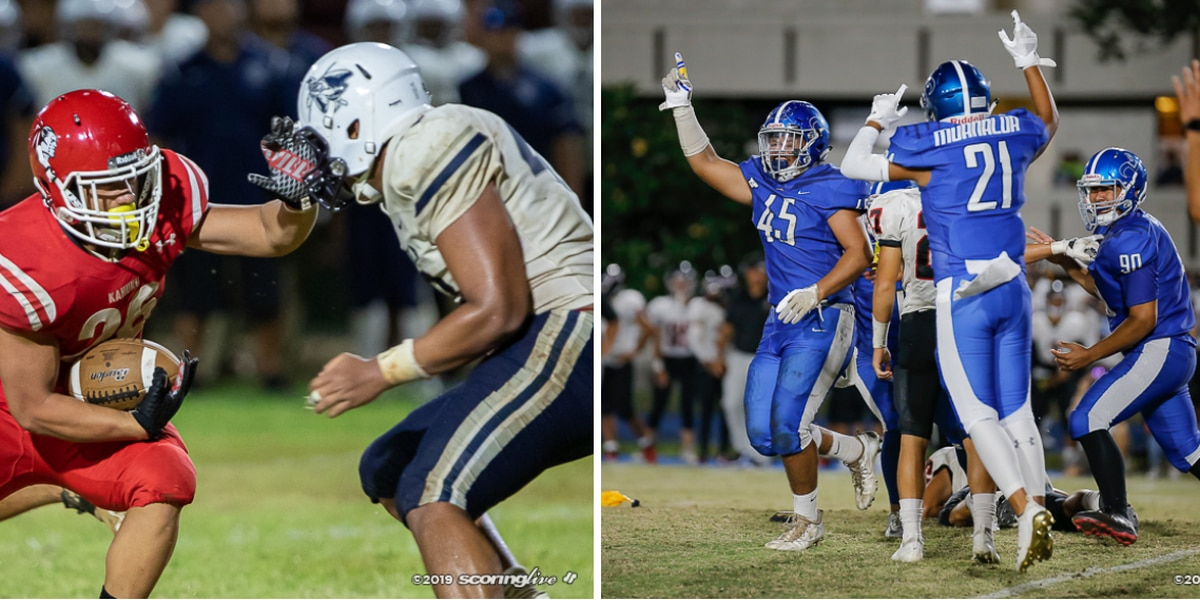 Statewide scores from week two of Hawaii prep football