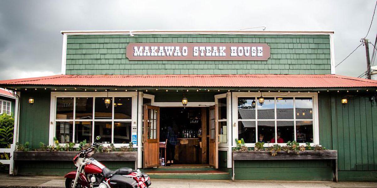 Makawao Steakhouse closing its doors after financial hardship