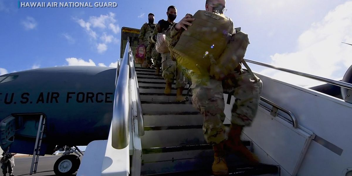 7 Hawaii National Guard members test positive for COVID-19 following DC deployment