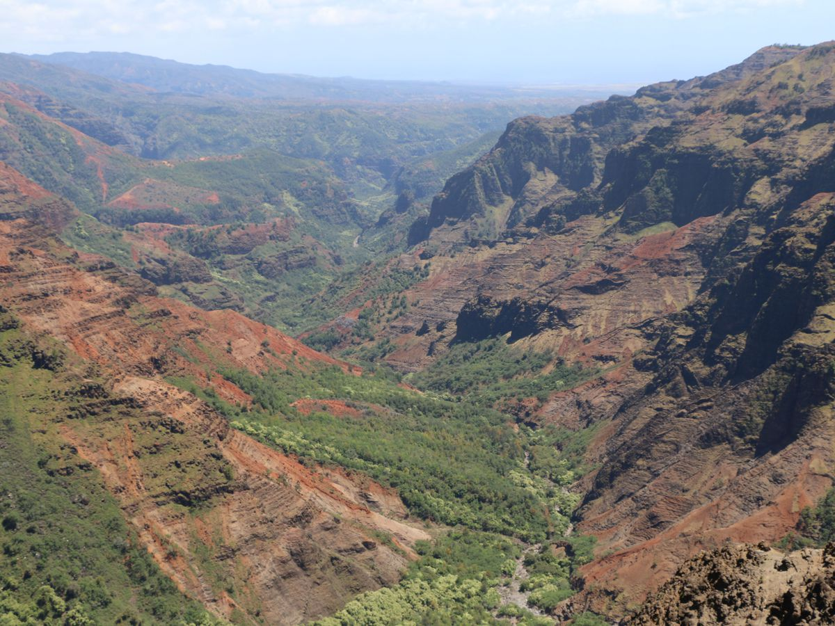 Out-of-state visitors to pay parking fees at Koke'e, Waimea Canyon State Park