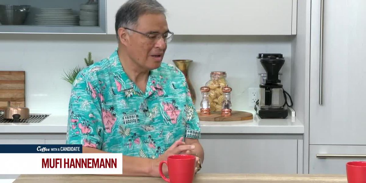 Coffee with a Candidate: Mufi Hannemann, Candidate for Honolulu Mayor