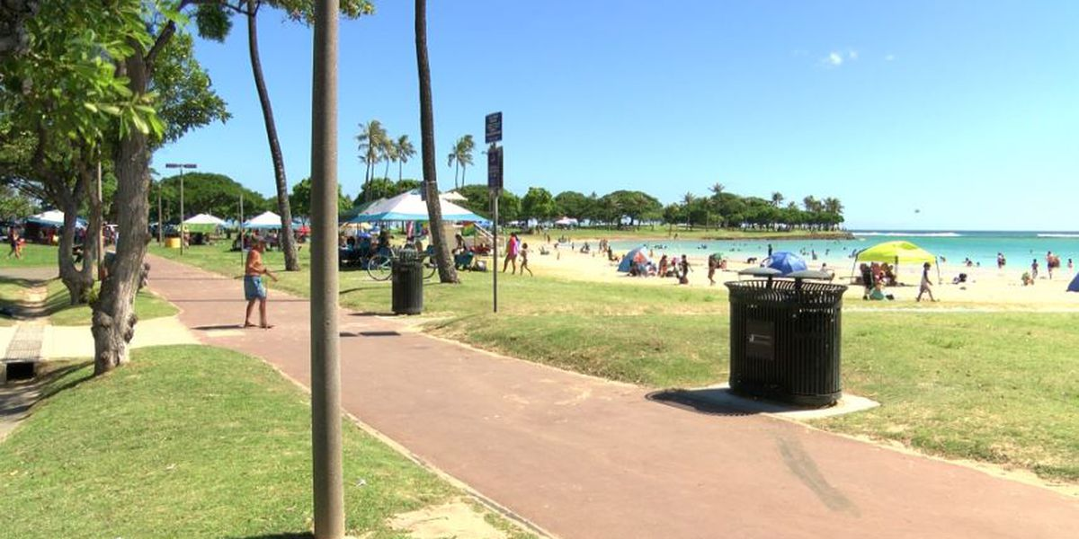More improvements are coming to Ala Moana Beach Park. Up next: Repaving
