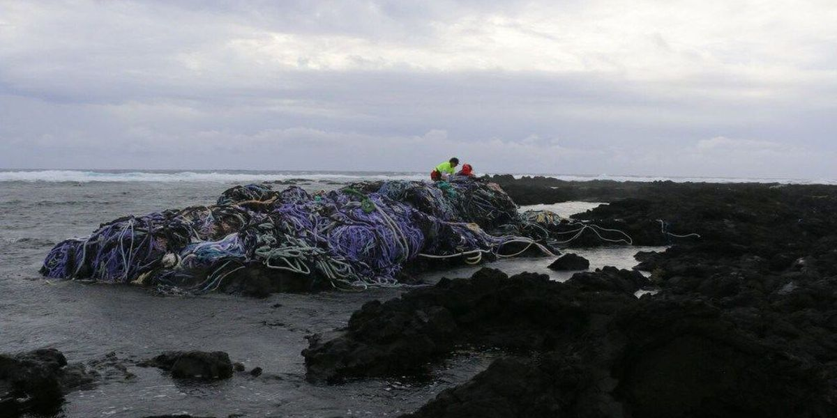 Researchers use Kamilo Point's 'plastic beach' as lab for garbage tracking