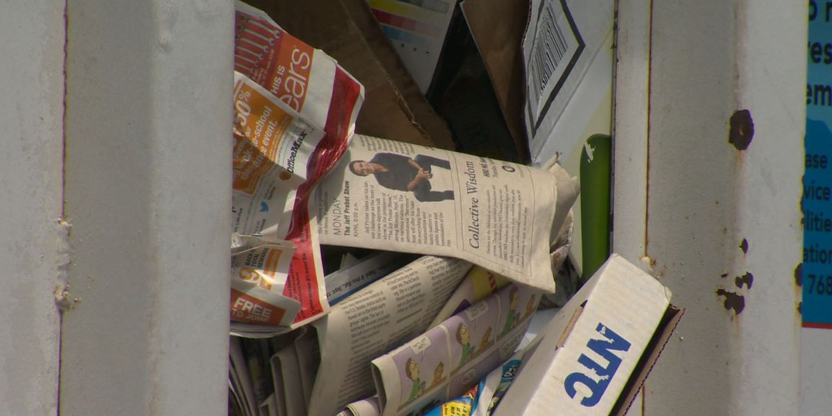 Hawaii County's 2-Bin recycling program will no longer accept paper, plastics