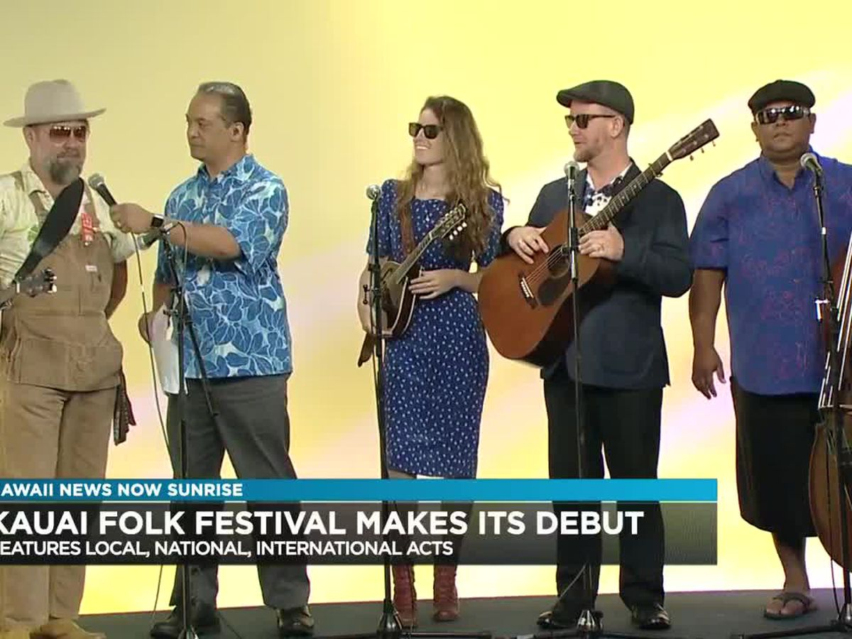 The Kauai Folk Festival is set to kick off at the end of September