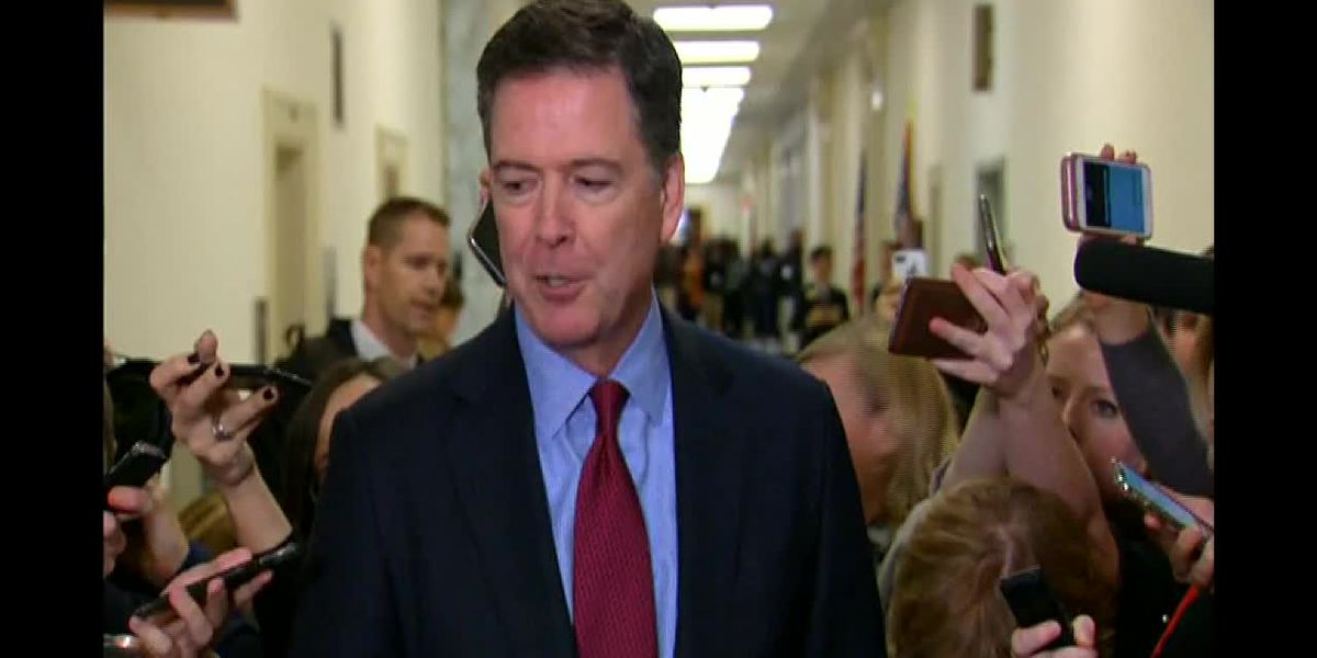 Comey on hearing: 'We're talking again about Hillary Clinton's emails for heaven's sakes'