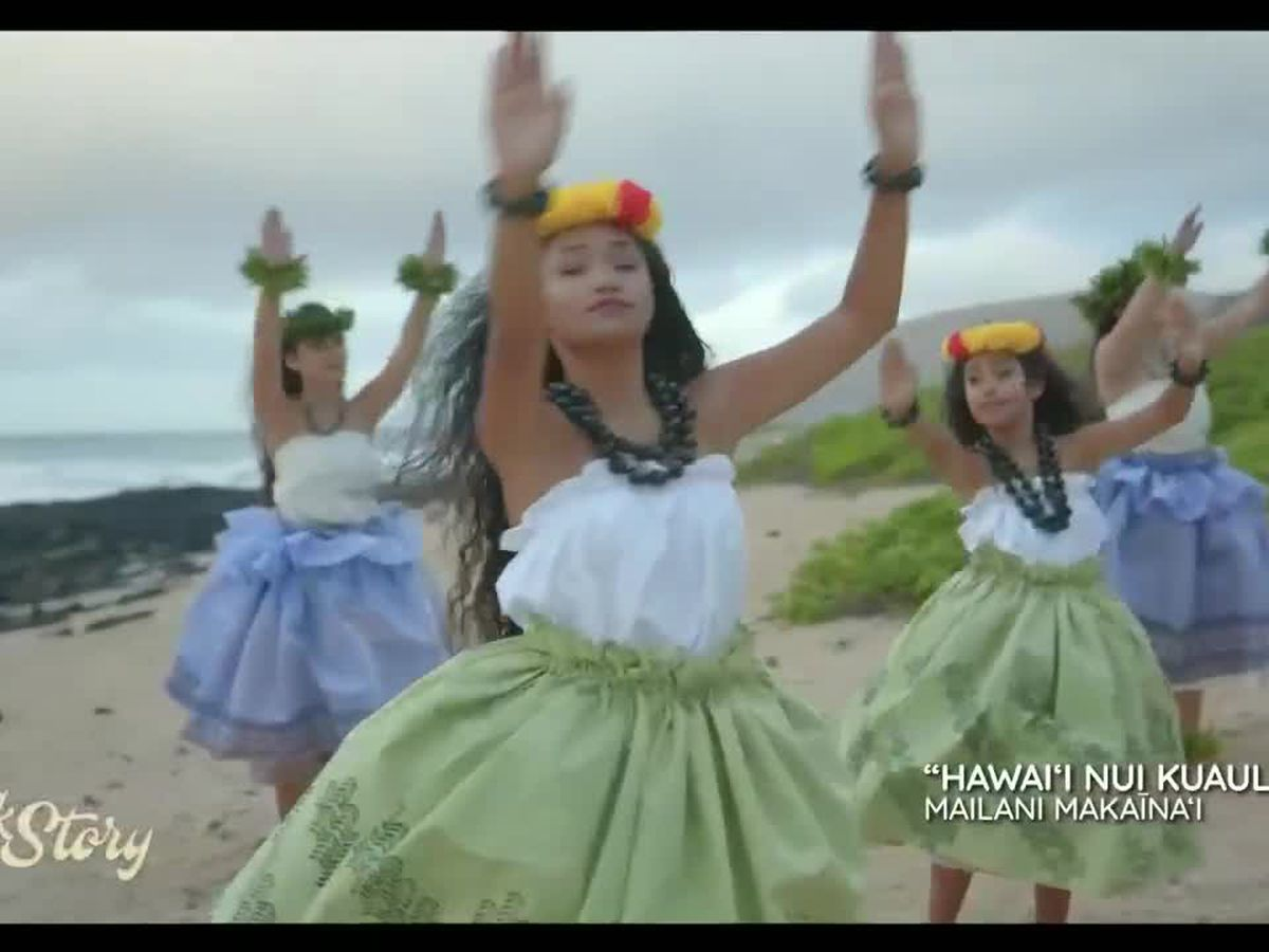 Mailani Makainai shares her music video for Hawai'i Nui Kuauli and performs on Talk Story