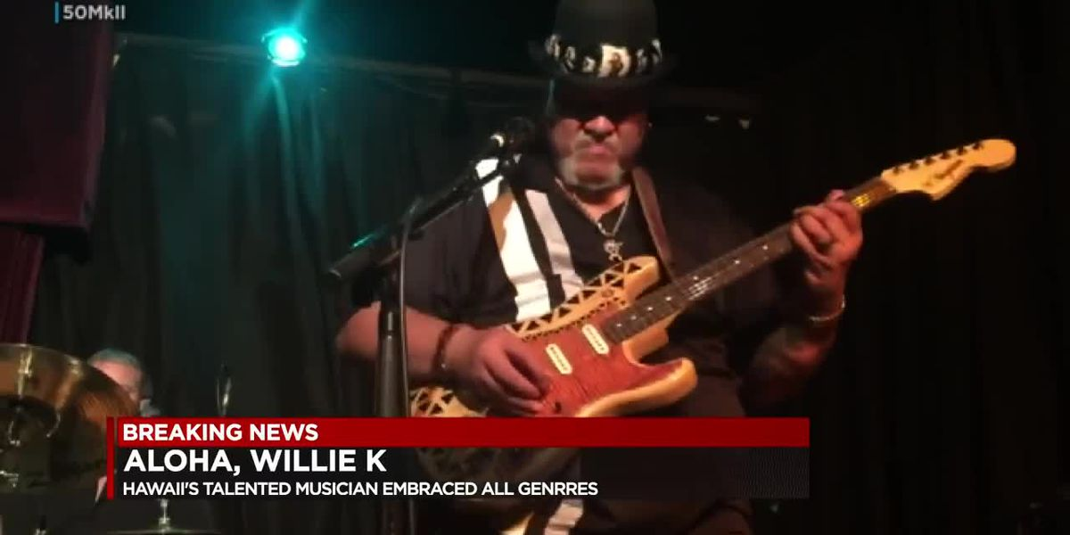 Hawaiian music legend Willie K dies after lengthy lung cancer battle