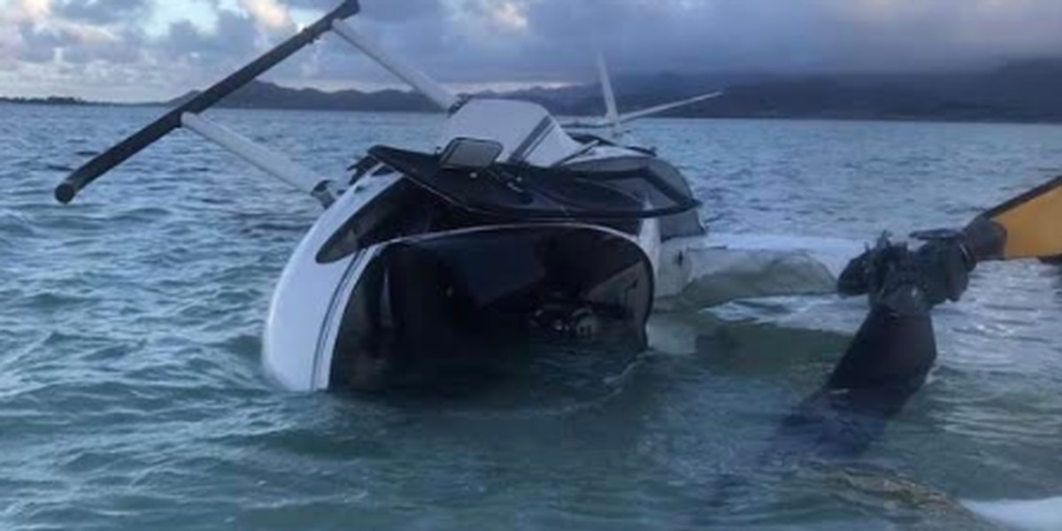 NTSB: Pilot in Kaneohe Bay chopper crash lost consciousness twice during flight
