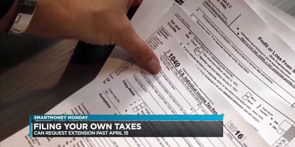 SmartMoney Monday: Filing your own taxes