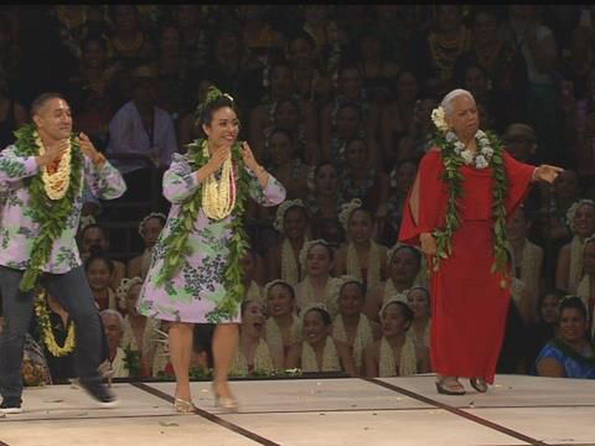 2018 Merrie Monarch: Kumu Hula Dance