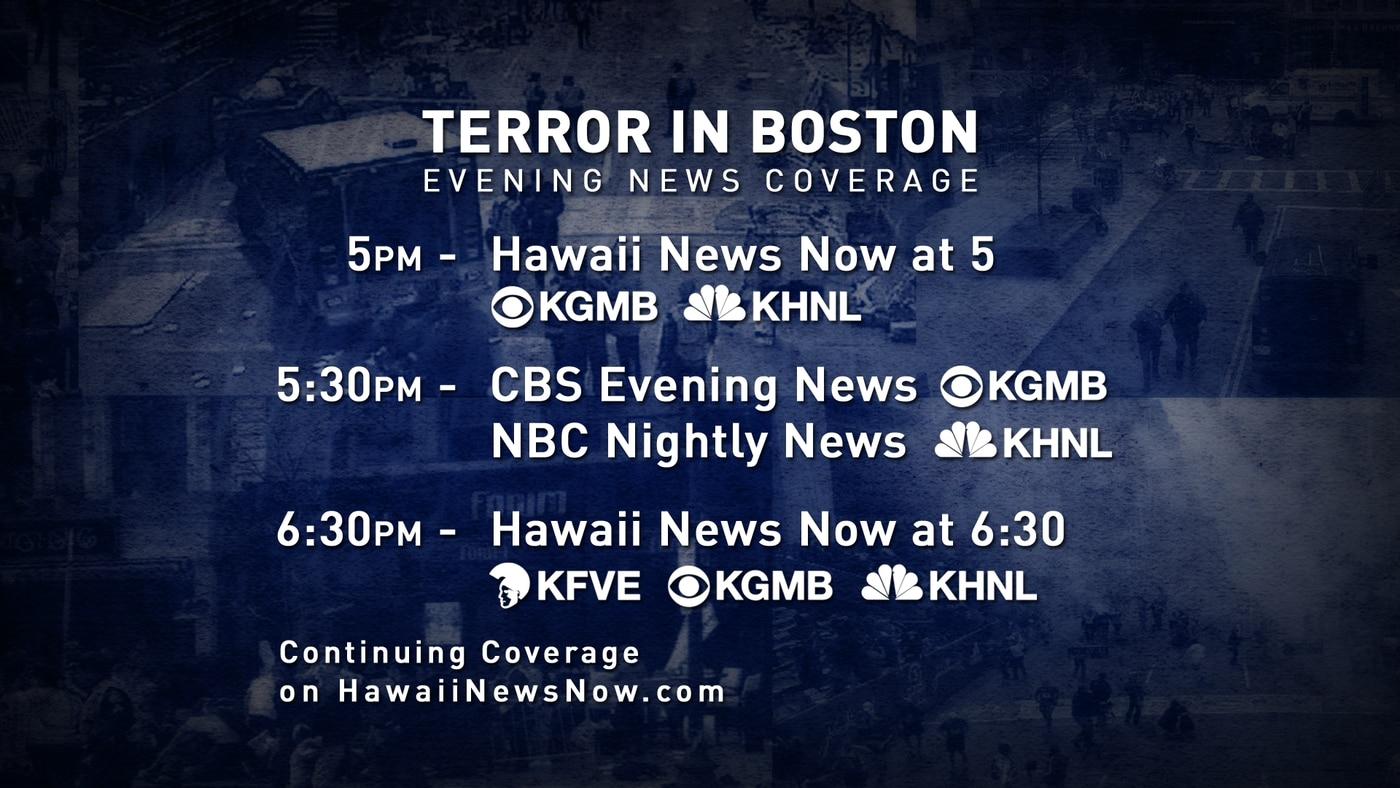 Live Blog Boston Marathon Bombings