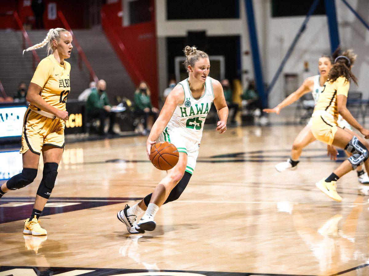 Rainbow Wahine basketball sweep Long Beach State in final road-series of the season