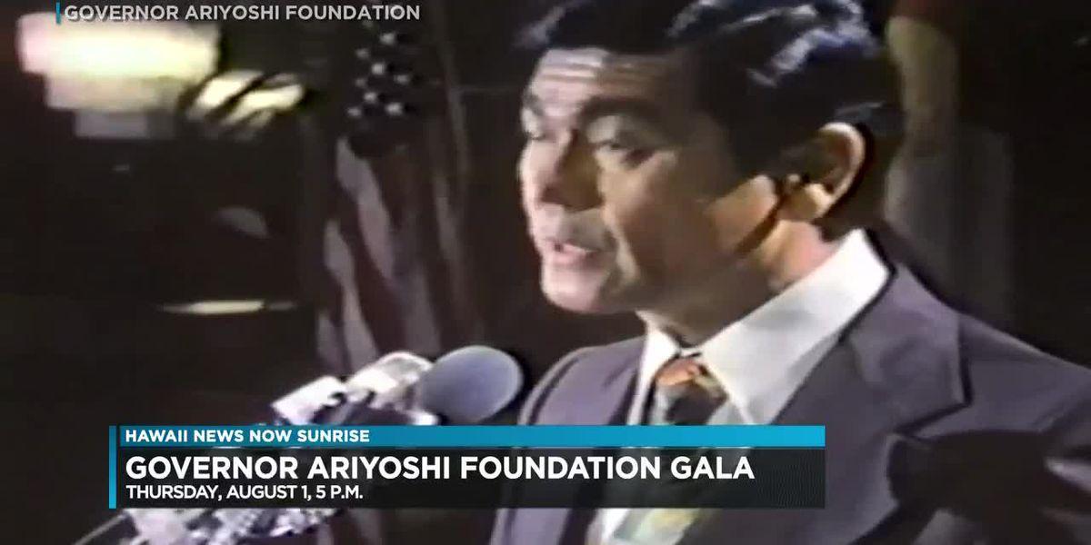 Governor Ariyoshi Foundation to hold gala this August