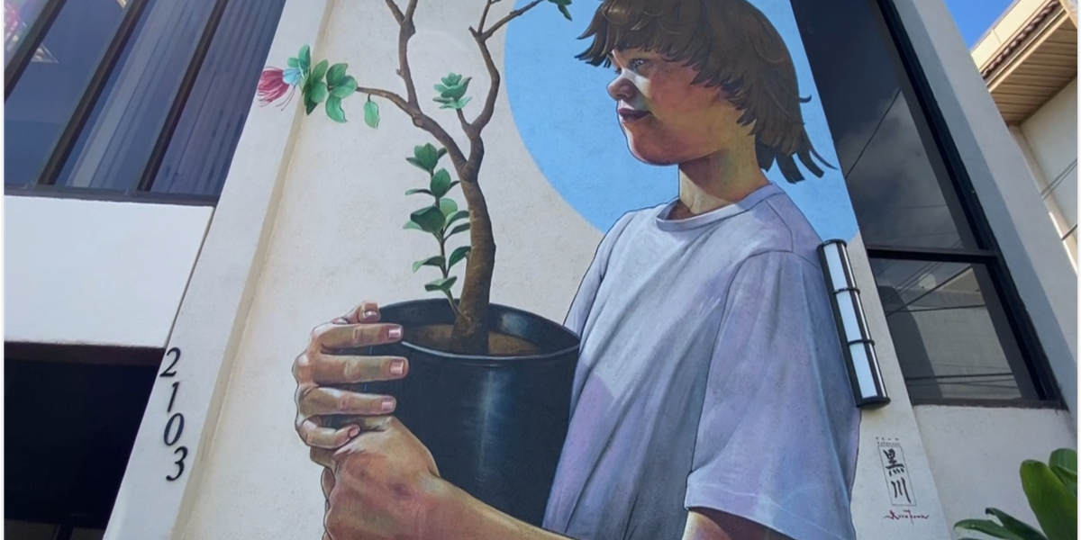 New mural in Wailuku aims to spread awareness about child abuse prevention