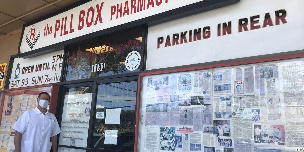The Pillbox Pharmacy, a Kaimuki fixture for 46 years, to close its doors