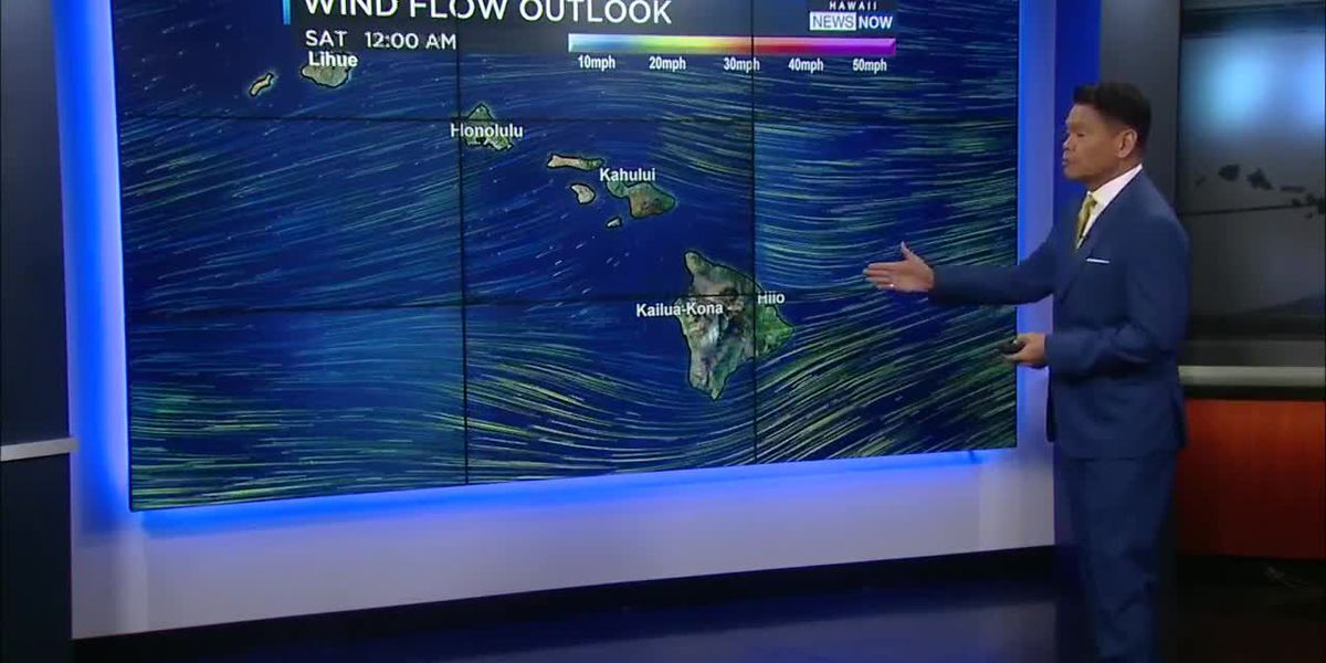 Forecast: Trade winds return for first full day of spring