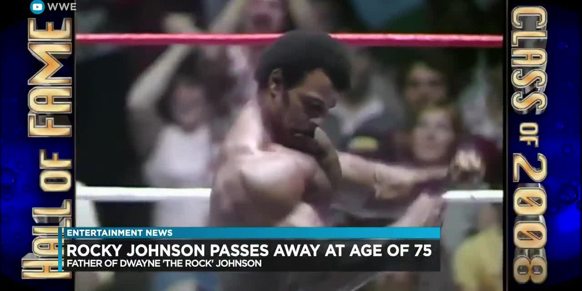 "Entertainment: Rocky Johnson, son of Dwayne ""The Rock"" Johnson dies at age 75"