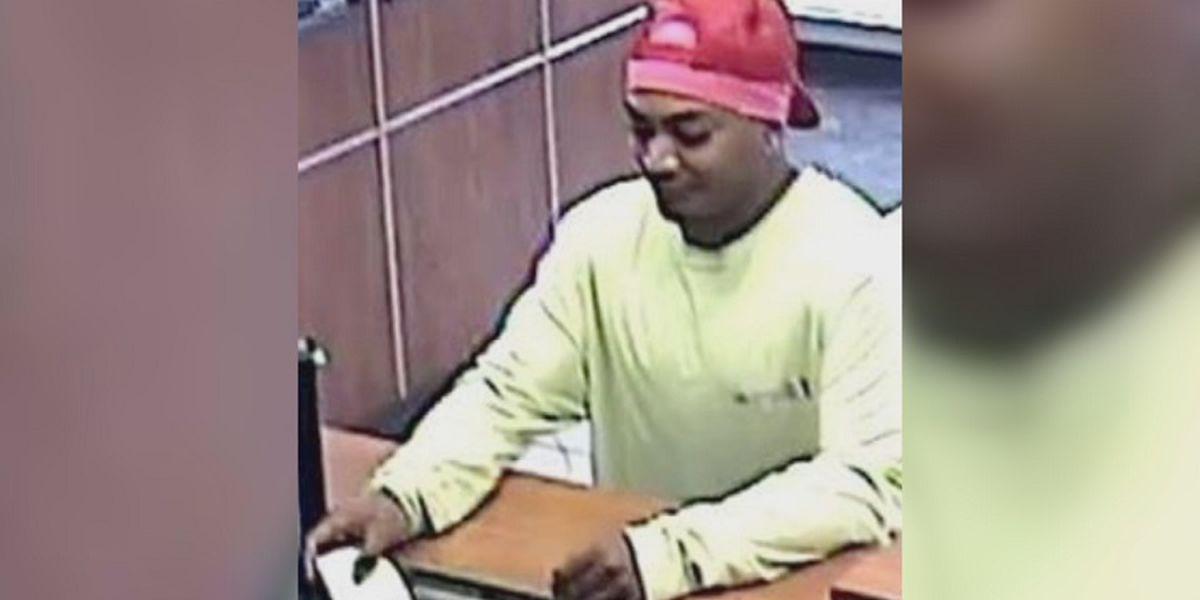 Fingerprints, tips from public help lead to arrest of suspected bank robber