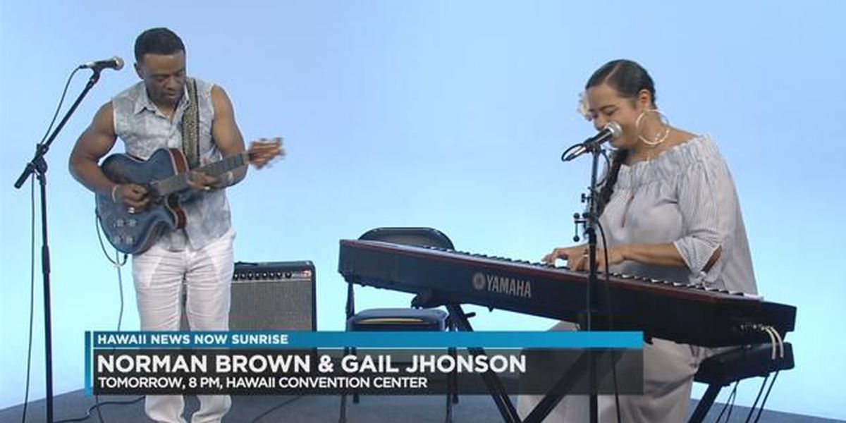 Norman Brown and Gail Jhonson