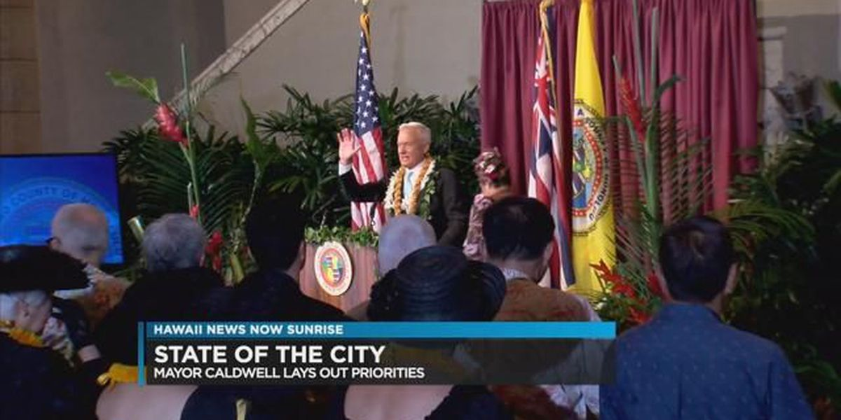 Mayor Caldwell lays out plan for 2017 in State of the City Address