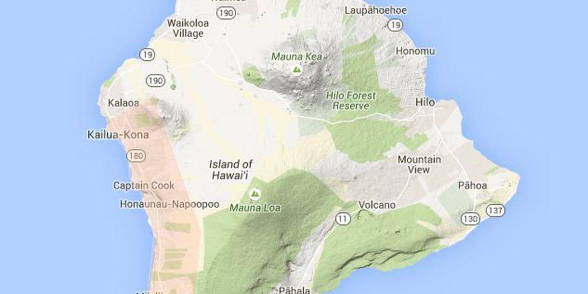 Flood Advisory issued for portion of Big Island