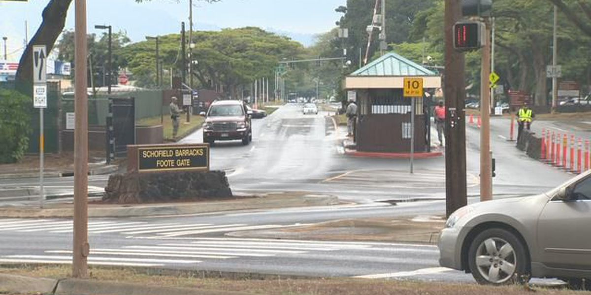 Ex-Schofield Barracks employee charged in bribery conspiracy