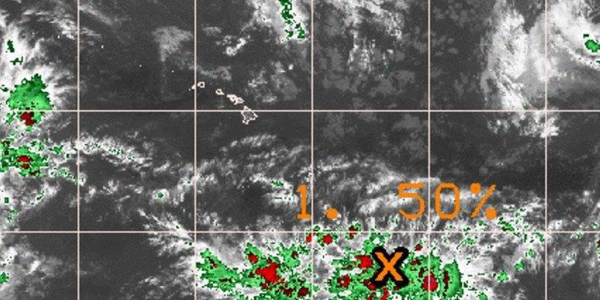 Forecasters monitor disturbance southeast of state