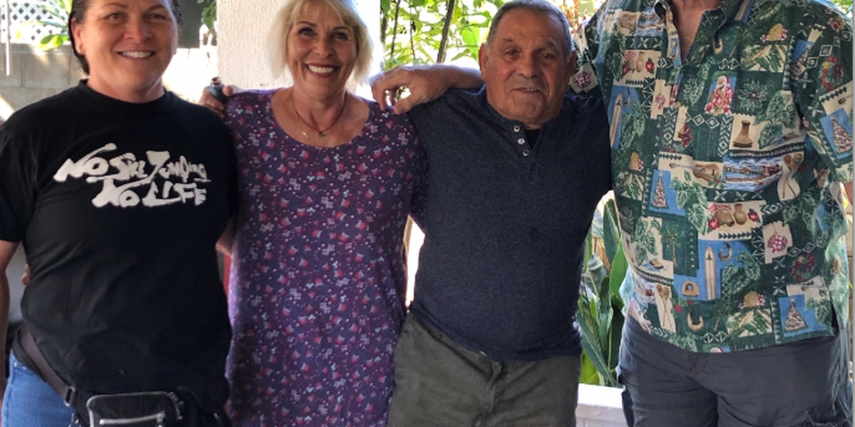 74-year-old Florida man meets Hawaii siblings he never knew existed
