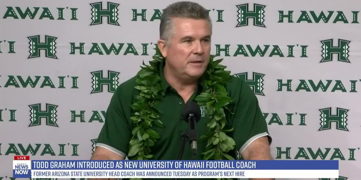 Todd Graham introduced as new University of Hawaii head football coach