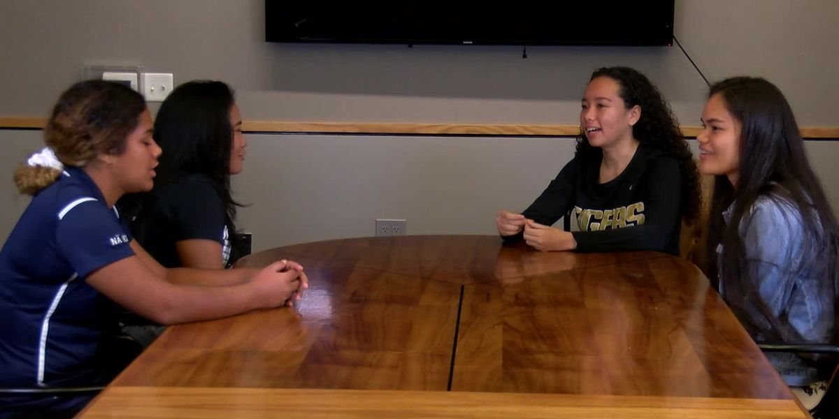 4 standout female high school football players hope to inspire others to play