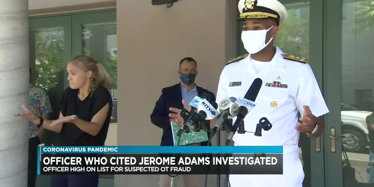 HPD office who cited Surgeon General among those under investigation for overtime abuse