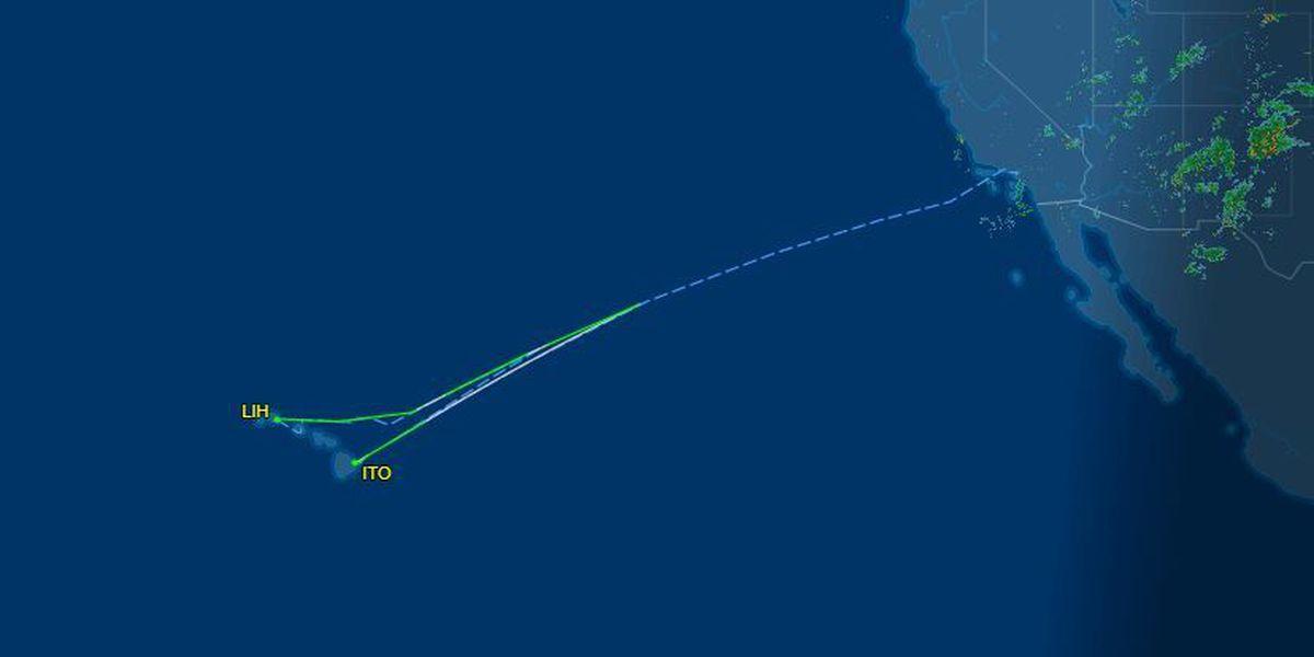 Smoke in cockpit caused Hawaiian Airlines emergency landing