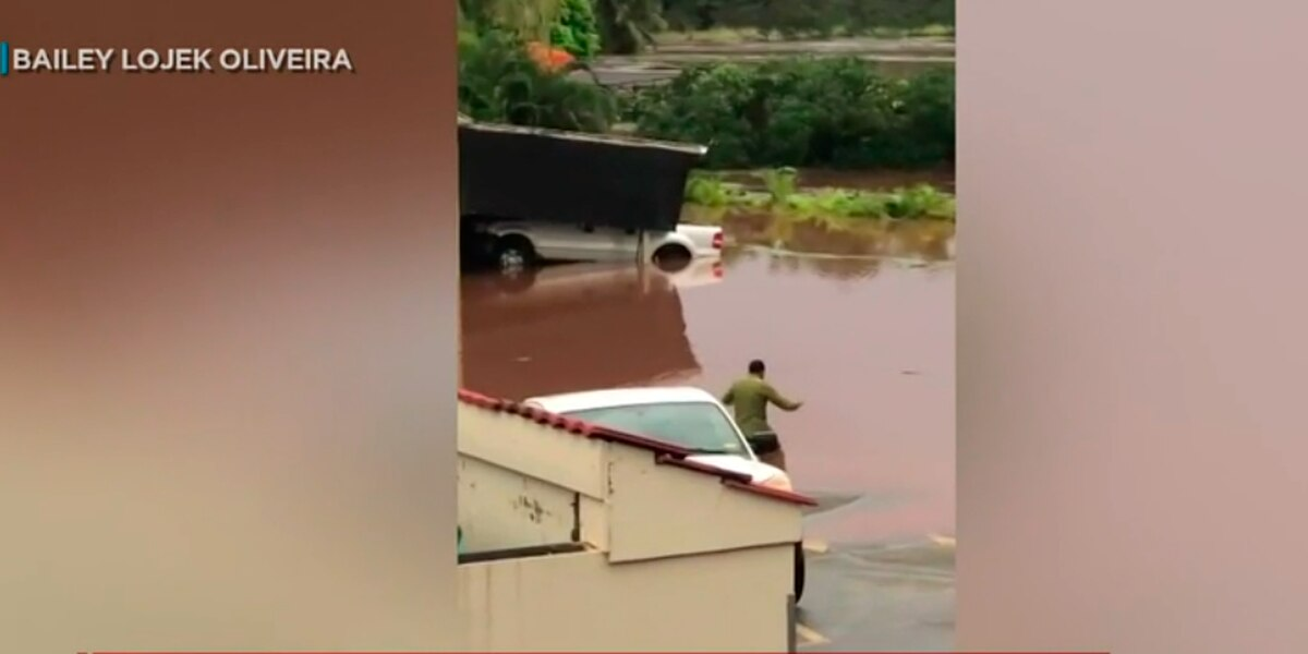 During damaging flood, one man stopped to honor the land with tradition — and respect
