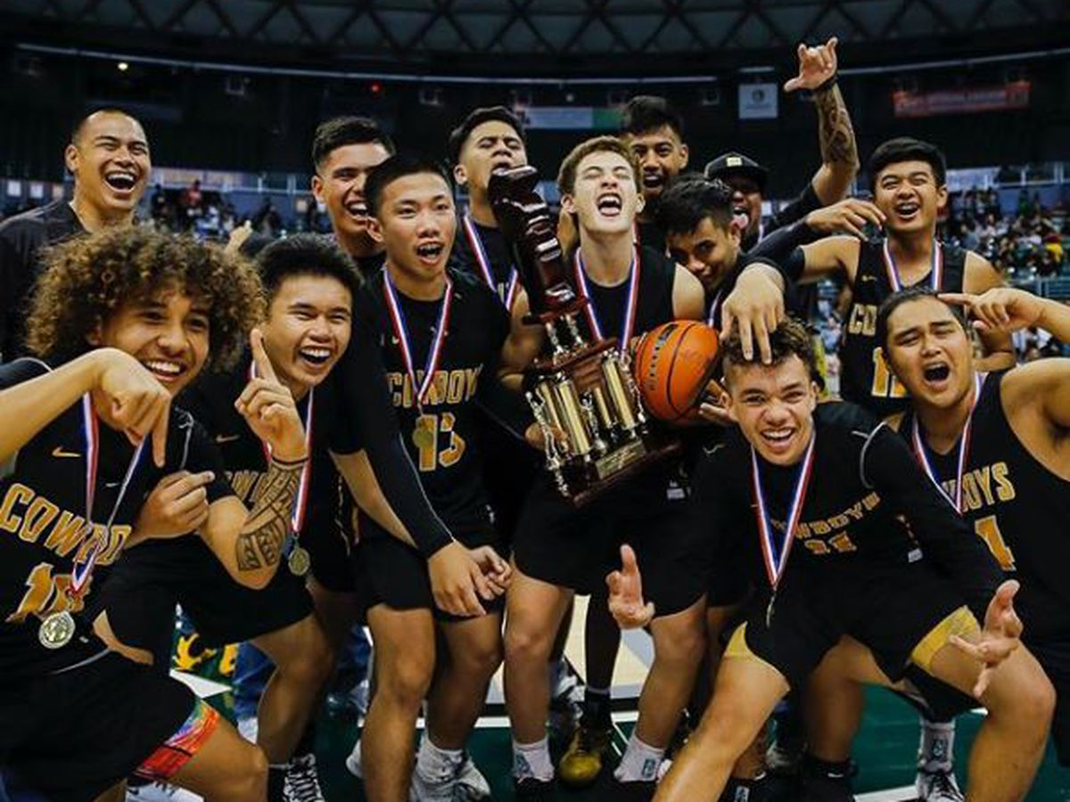 Kohala captures first ever Division II state basketball crown