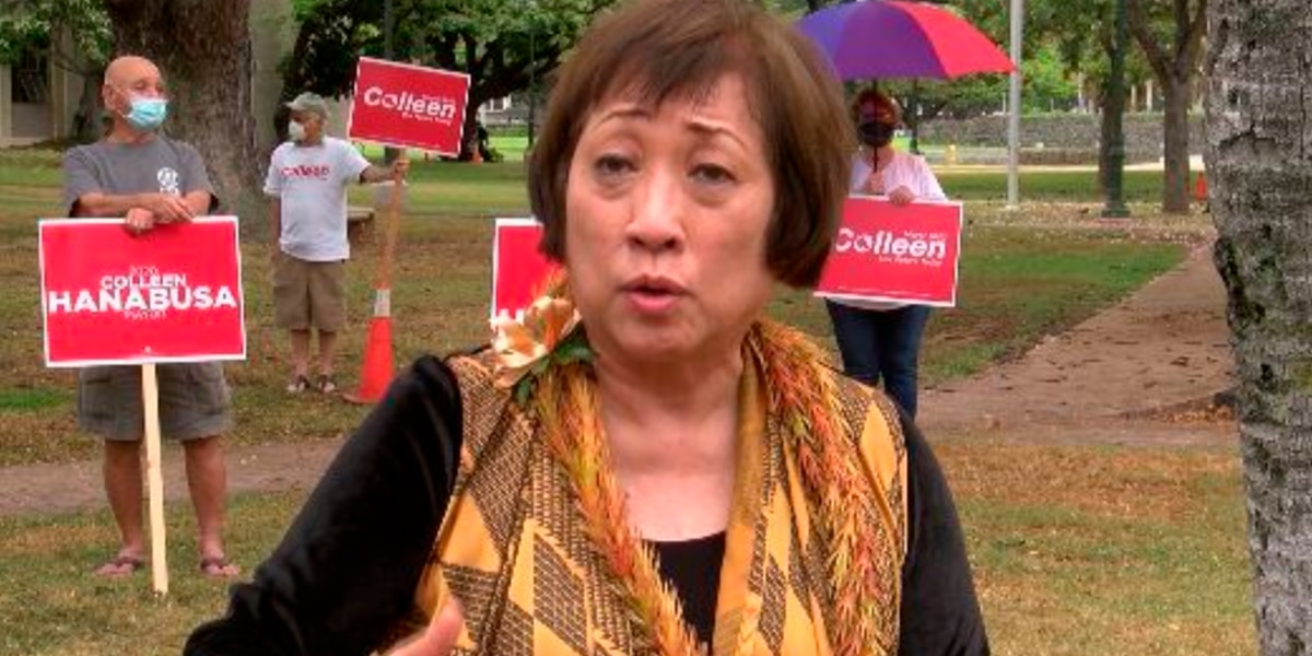 Colleen Hanabusa touts political experience as she enters Honolulu mayoral race