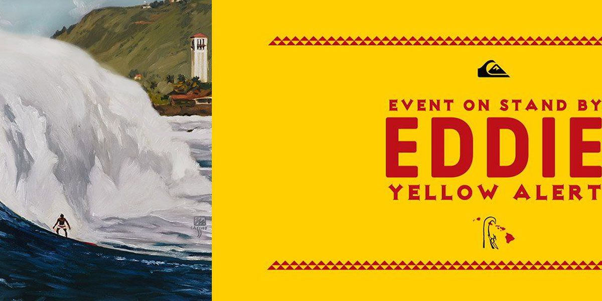 'Eddie' big-wave surf competition on standby for Thursday